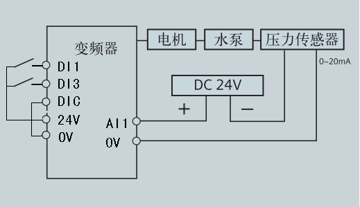 简单实用的恒压电路图