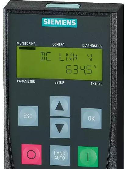 西门子变频器基本操作面板